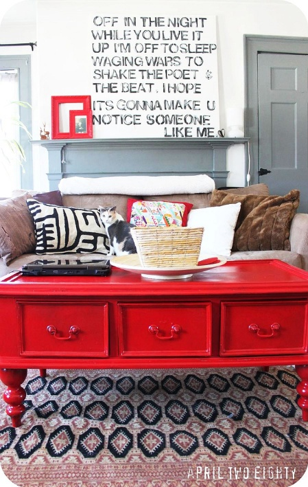 love the lyrics and the red table <3.