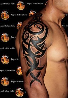 Tribal tattoos for men have existed at least since prehistoric times, so they are quite ancient. Pick from a large selection. Click here >>>