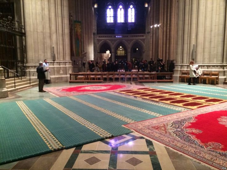 National Cathedral Holds Friday Muslim Prayers World