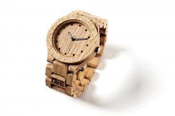 Wooden analog watch / Drewniany zegarek analogowy