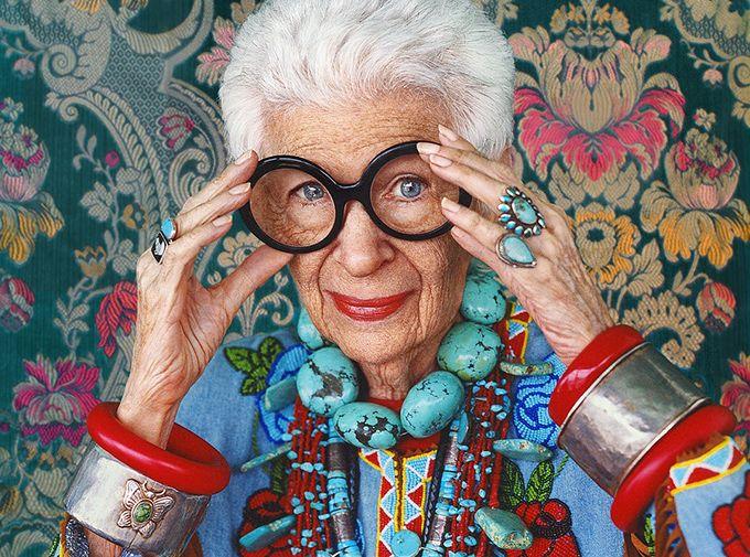 ドキュメンタリー映画『アイリス・アプフェル!94歳のニューヨーカー』最高齢のファッションアイコンの写真1