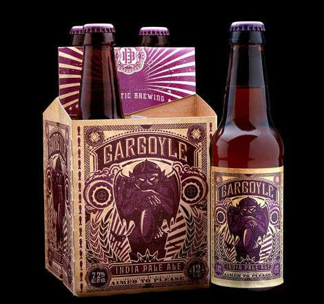 Ballistic Brewing Gargoyle India Pale Ale received Best New Design and Packaging – Gold  at the 2012 International Beer Challenge !