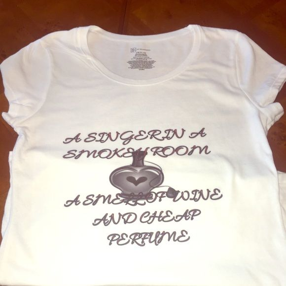 Journey song lyrics wine themed shirt All my shirts are custom made to order sizes S-XL. Can almost always make same day as ordered. Tops Tees - Short Sleeve
