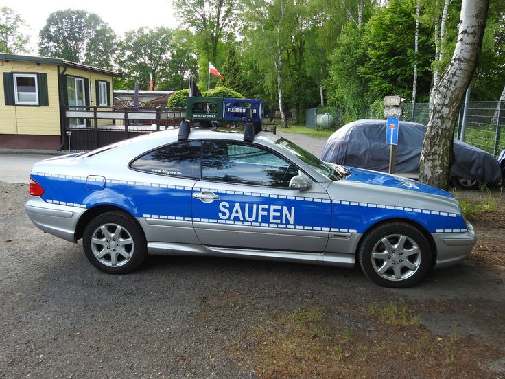 Mercedes CLK 320 [C208] Master Edition LPG (Polizei Look Saufen)
