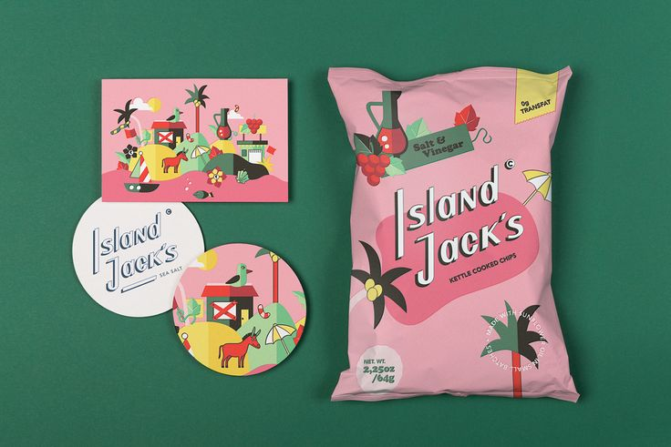 Island Jack´s is a potato chips manufacturer based in Miami that is different from other commercial chips brands on the market.The brand is personal, has a fun character and they cook their chips in small batches in a cattle.Highest quality, personalit…