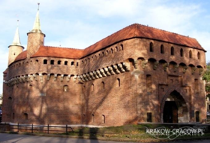 Barbakan w Krakowie / The Kraków barbican