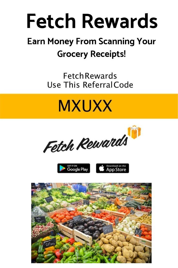 Fetch Rewards Referral Code MXUXX 2 Sign Up Bonus