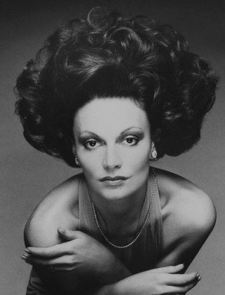 Diane Von Furstenberg. Photo from Luckymag.com