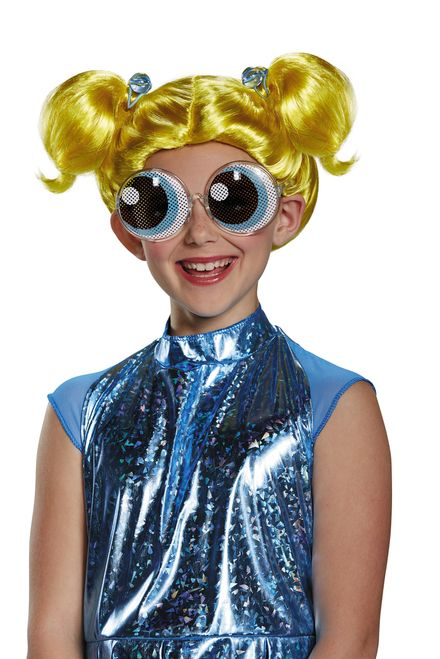 "Become ""the joy and the laughter"" in the Bubbles Child's Wig. - Yellow-blonde…"