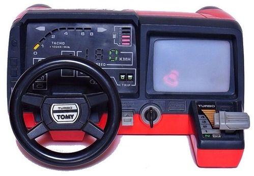 トミー ターボダッシュボード  80年代  トミーから発売されたドライビングゲーム。