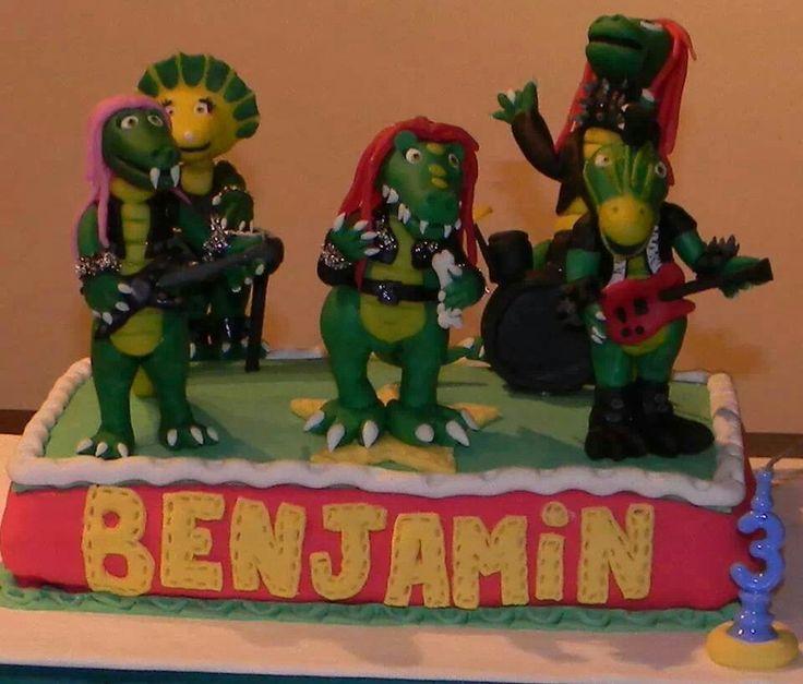 Cumpleaños de Heavysaurios. Los chicos quieren rock!