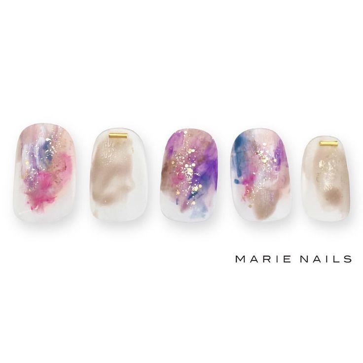 #マリーネイルズ #marienails #ネイルデザイン #かわいい #ネイル #kawaii #kyoto #ジェルネイル#trend #nail #toocute #pretty #nails #ファッション #naildesign #ネイルサロン #beautiful #nailart #tokyo #fashion #ootd #nailist #ネイリスト #ショートネイル #gelnails #instanails #newnail #purple #french #フレンチネイル
