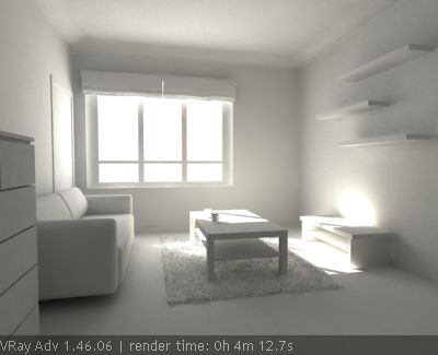 VRay Tutorials - Rendering an interior scene tutorial