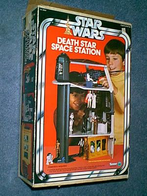 1970s toys | And here are some pictures of my Death Star Space Station:
