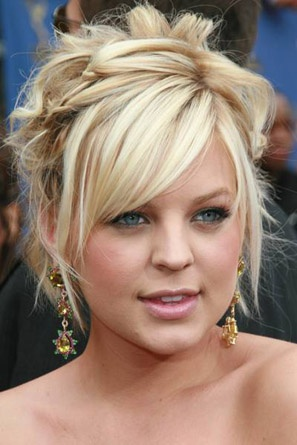 Updo Hairstyles Kirsten Storms Medium Blonde @Kristi LaRose