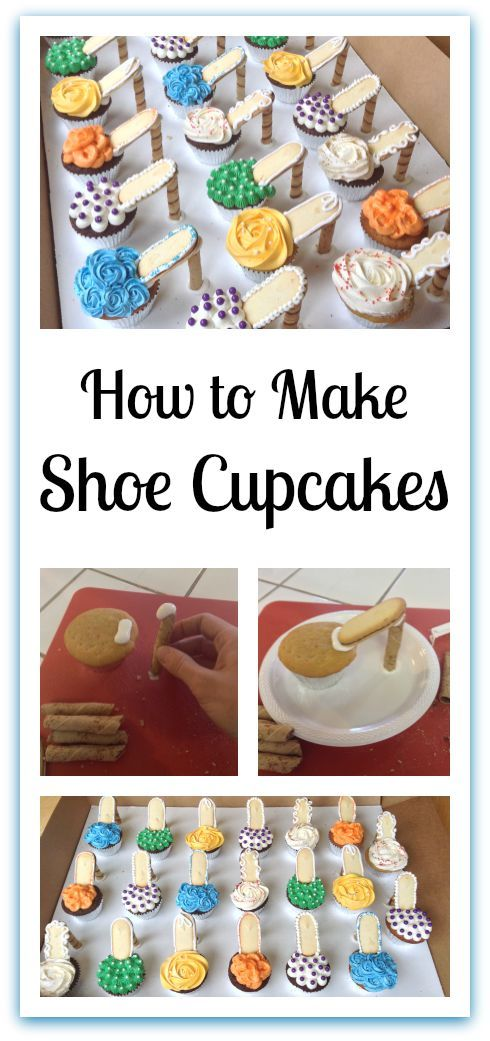 Shoe Cupcakes | Little Delights http://fave.co/2dj7xFO