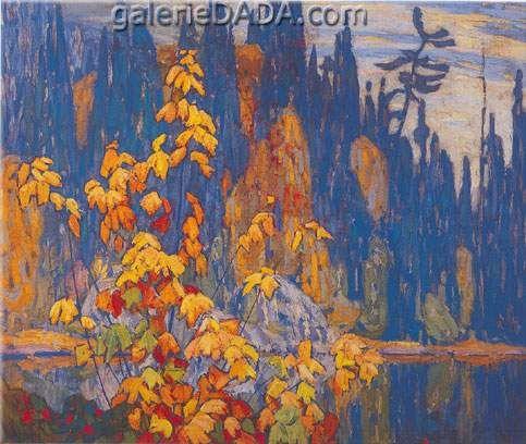Lawren Harris,  Autumn Algoma Fine Art Reproduction Oil Painting
