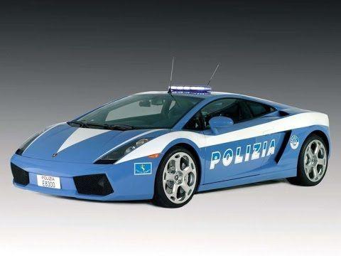 lamborghini huracan police car in action - Lamborghini Egoista Police