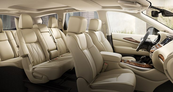 2016 Infiniti QX60 Crossover | Interior Seating for Seven