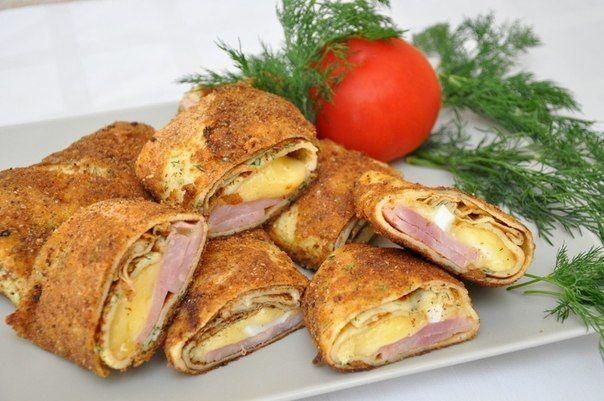 Spring rolls breaded!