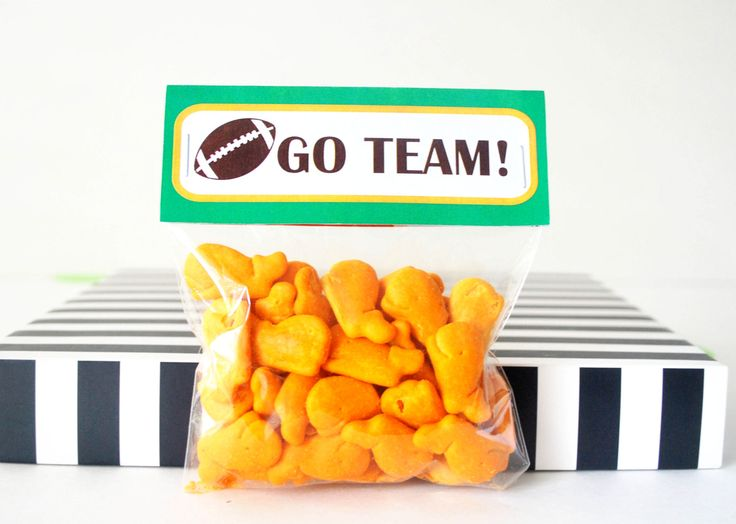 Football Bag Toppers Printable PDF Treat Bag Tags Printable Party Favor Bag Topper  Instant download D473 (5.00 USD) by Partymazing