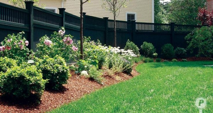 11 Interesting Fence Line Landscaping Ideas