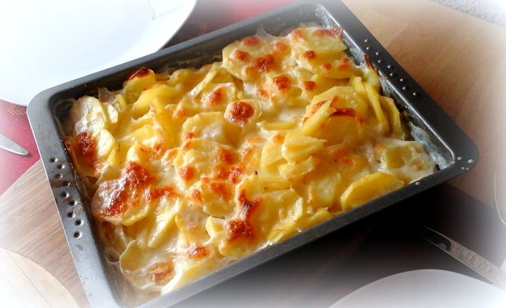 Simi´s Sattmacher: Einfaches Kartoffelgratin