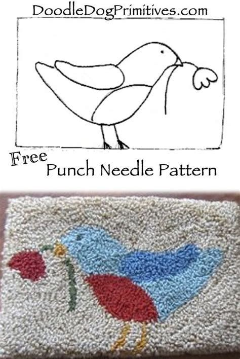 image regarding Free Printable Punch Needle Patterns called Picture consequence for Punch Needle Behavior Cost-free Printable