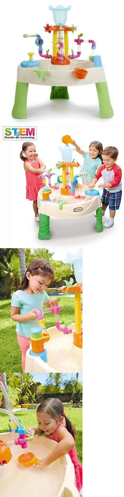 Sandbox Toys and Sandboxes 145990: Fountain Factory Water Table Little Tikes Kids Toddlers Outdoor Toys Sensory New -> BUY IT NOW ONLY: $59.61 on eBay!