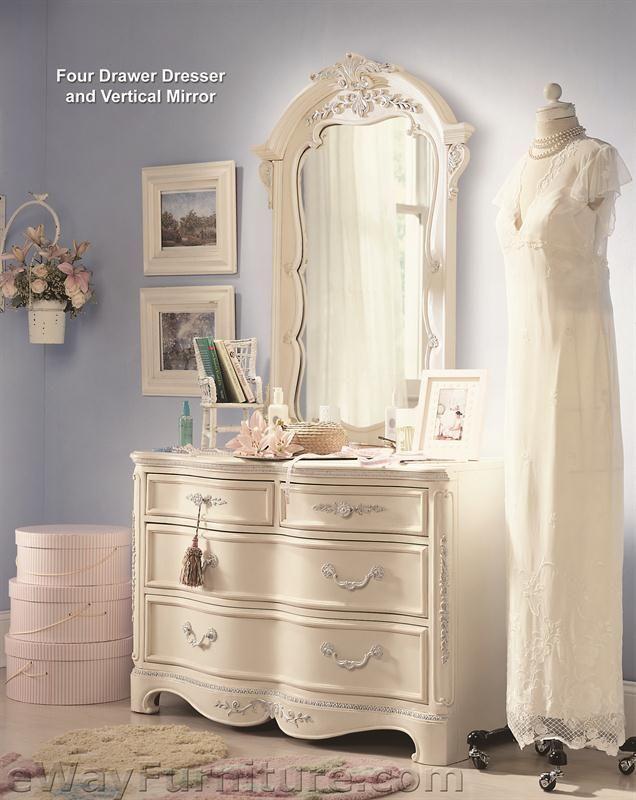 Vintage White Sleigh Bed Childrenu0027s Bedroom Set