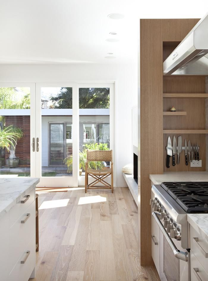Light wood white doors.   The Architect Is In: Medium Plenty in San Francisco : Remodelista