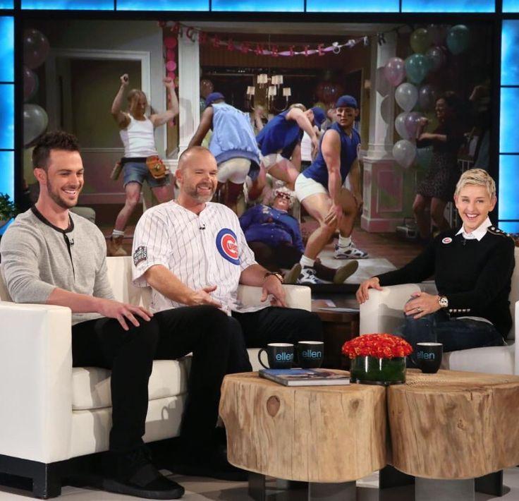 Kris Bryant & David Ross The Ellen Show