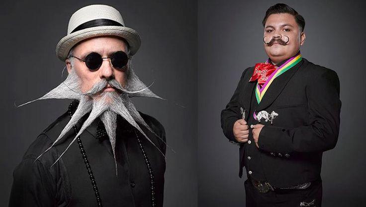 """Die Teilnehmer der """"National Beard and Moustache Championships 2013"""" traten an, um ihre Schnauz-, Kinn-, Backen- und Vollbärte im Wettbewerb zu messen. Bart ist wieder in, denn Bärte sind männlich! Vor allem ist der Bart Ausdruck der Persönlichkeit.   - gregandersonphoto.com"""