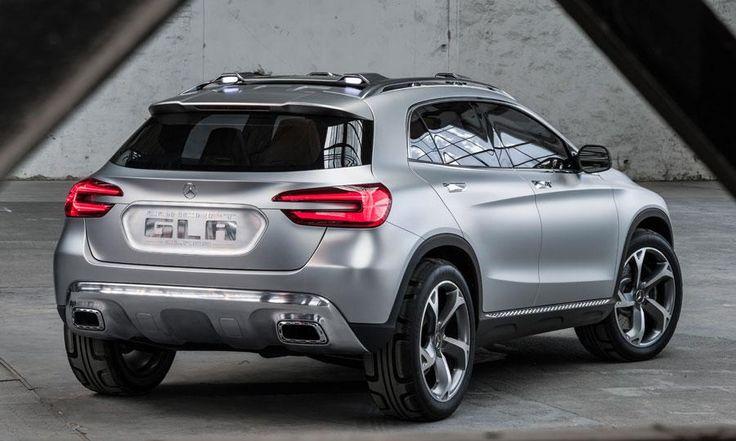 Mercedez Benz Gla Concept Car Suv Compact Vue Arri Re