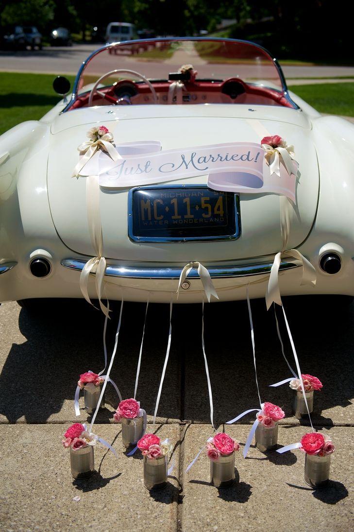 1954 Corvette Convertible Vintage Wedding Getaway Car By Modern Day Events Fl