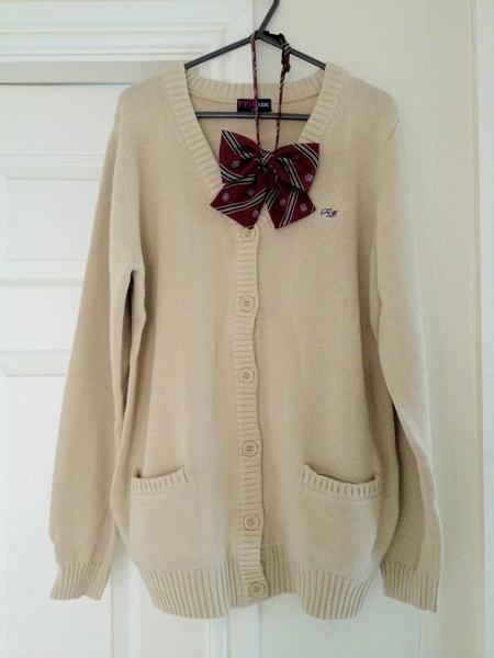 'Japanese School Uniform Top (Cardigan)' on Wish