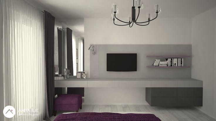 Bedroom design by Anita Ilie  Casa Patrata