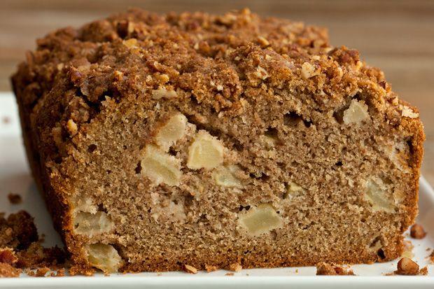 Apple Quick Bread with Pecan Streusel