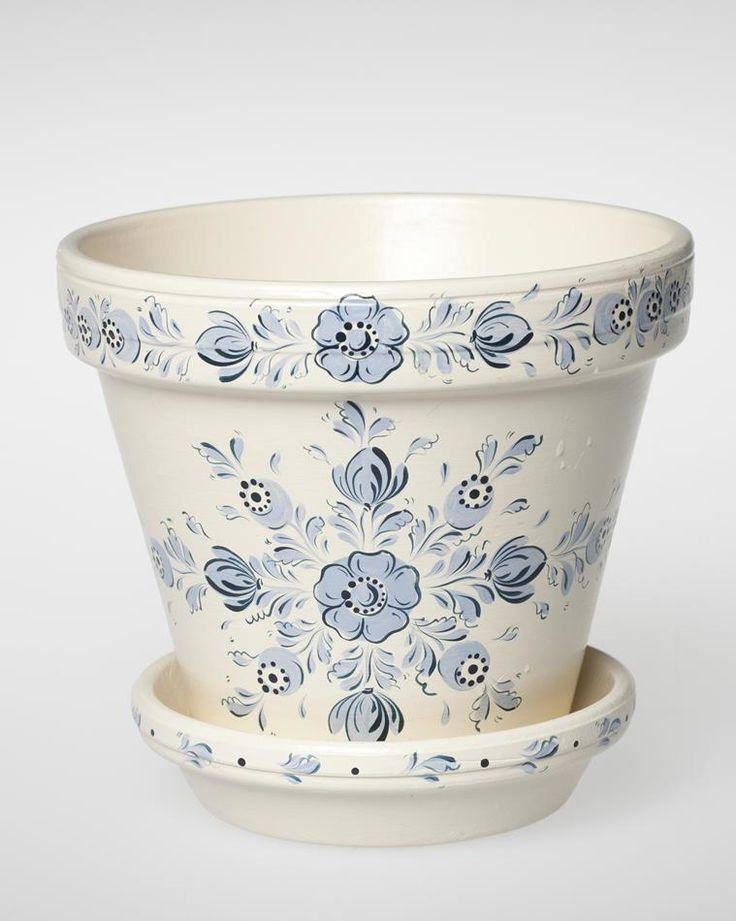 Flower Pot - Yoka Van Den brink, Hindeloopen, 1993 - Museum Victoria