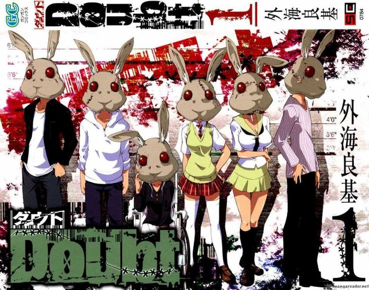 Anyway the manga revolves around a game that is called Rabbit Doubt, where all the players are rabbits and one person is picked as a wolf disguised as a rabbit. Description from disisshuey.blogspot.com. I searched for this on bing.com/images
