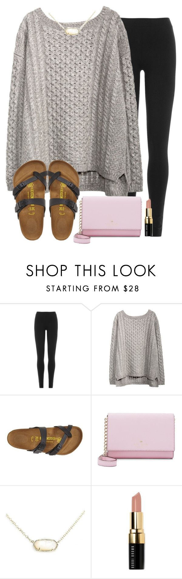 """weekly update in description!! plz read!!"" by madiweeksss ❤ liked on Polyvore featuring DKNY, Birkenstock, Kate Spade, Kendra Scott and Bobbi Brown Cosmetics"