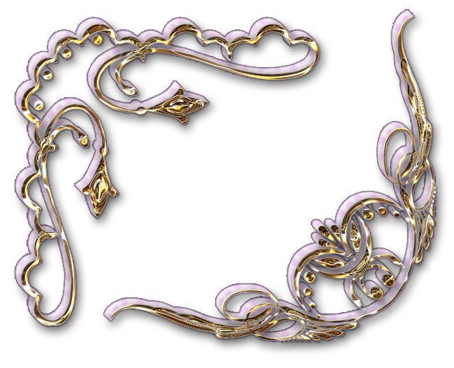 Rožky 3D zlaté | Tvoření