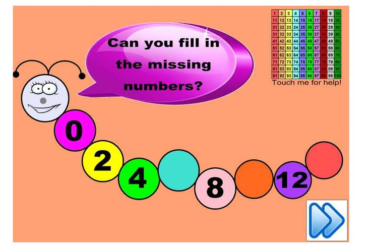 Develop your students' ability to see number patterns. They will love this cute IWB lesson.