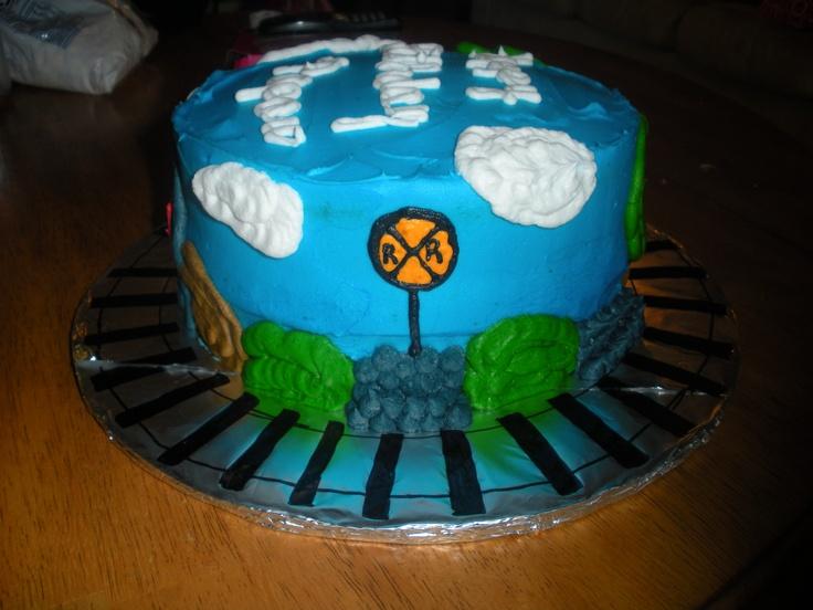 Train Themed Cake Pops