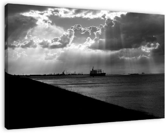 De Zeeuwse kust: Lichtregen Order on canvas @ phototroost.com