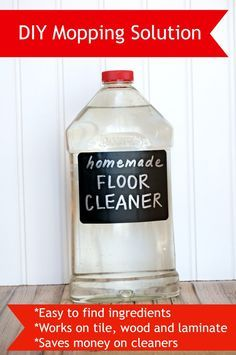 1000 ideas about mop solution on pinterest white vinegar homemade floor cleaners and - Clean cabinets using homemade solution ...