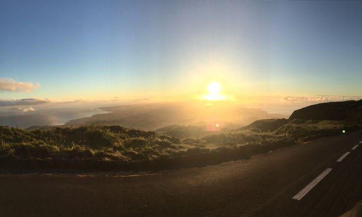 #VisitPortugal #TravelToAzores #Azores #PicoDaBarrosa's #Sunset #SaoMiguel