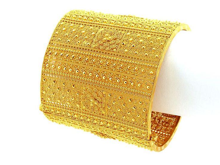 Indian gold bangle