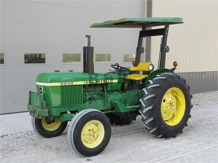 1976 JOHN DEERE 2040 at TractorHouse.com