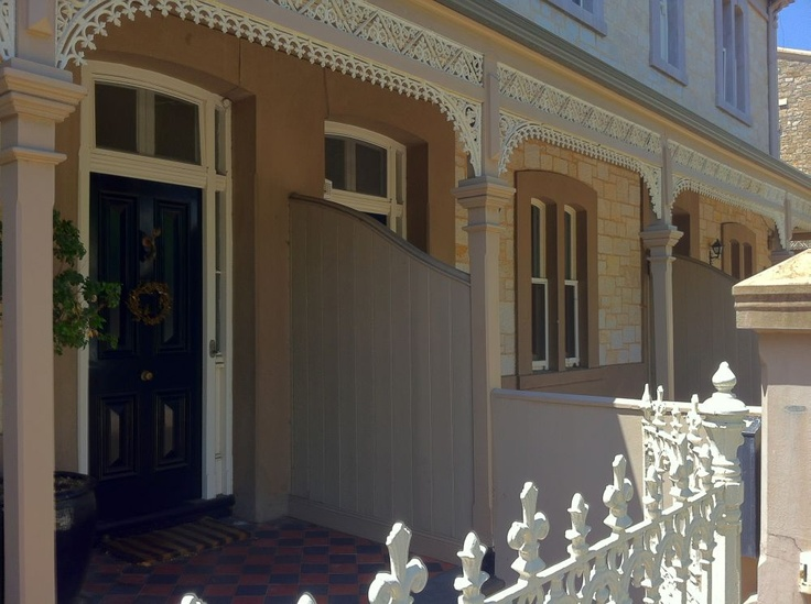 The distinctive architecture of North Adelaide, South Australia.